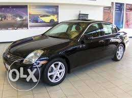 G35 4 doors all black