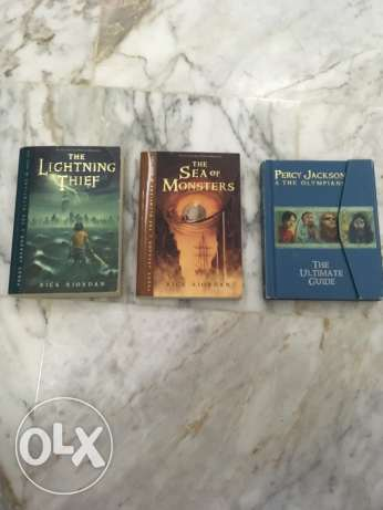 Percy Jackson and the Olympians (3 books)