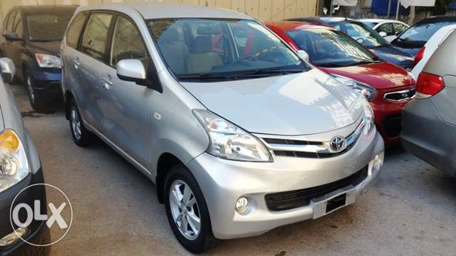 Toyota avanza 2013 full option, 1.5 liters