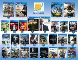 PS4 Games NEW!