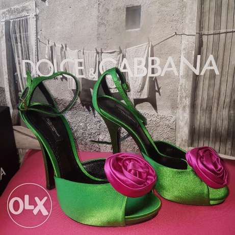 Dolce and Gabbana Heels Size 37.5