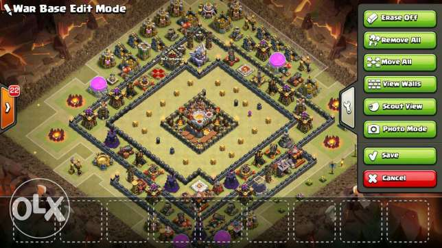 Clash of clans TH 11 super awiyee!! راس  بيروت -  5