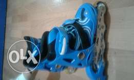 Rollers blue