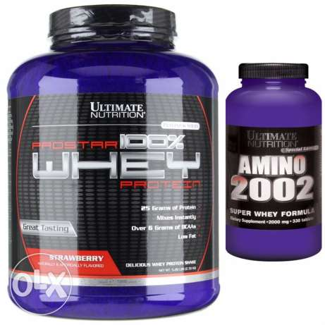 whey 80 servings + Amino 110 tablets
