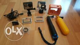 GoPro Hero 4 + LCD and all the accessories