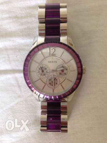 Watch - Guess, Purple - Original