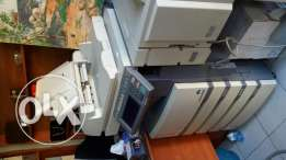 Photocopy machines color and black and white