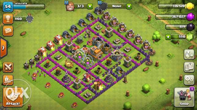Clash of clans & royal