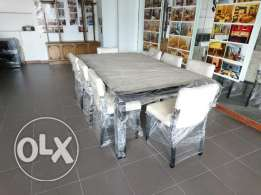 Wall Mounted Dresser + Dining Table + Chairs