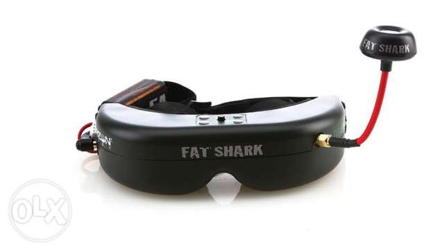 Fat Shark audio/video transmitter and receiver