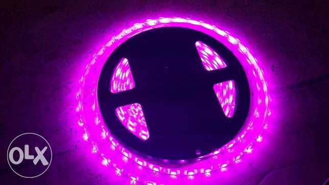 LED Light Strip 5M Flexible RGB بعبدا -  4