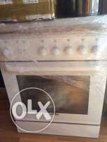 white whestinghouse oven and gas