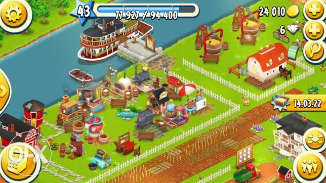 Hay day for sale