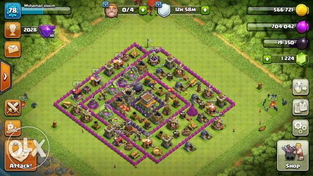 Clsh of clans