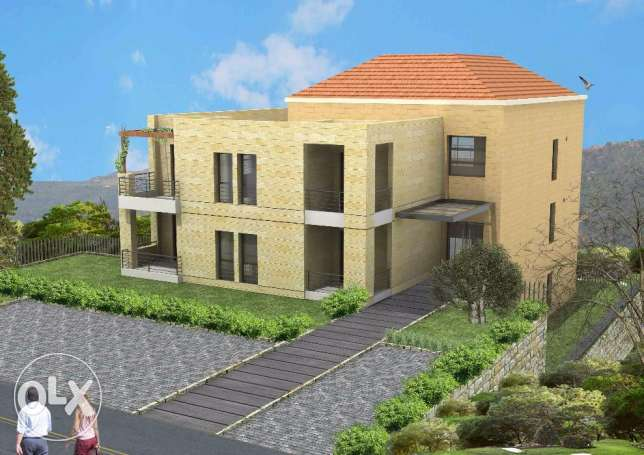 6 apartments under construction building for sale-Ain wazein chouf