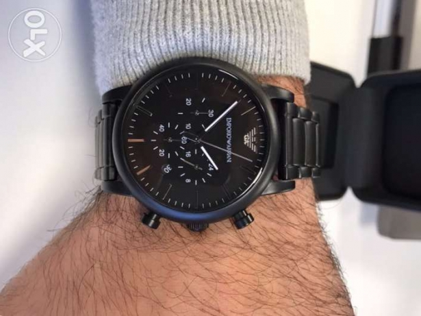 The new Black Emporio Armani hotest edition