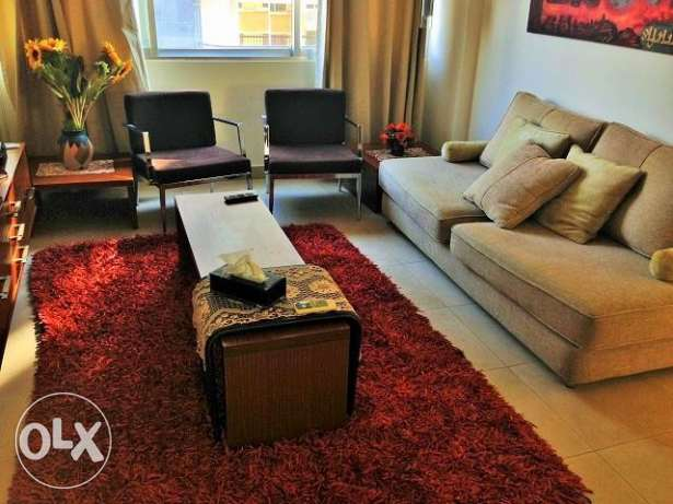 MK857 Furnished apartment for rent in Hamra, 70 sqm, 6th floor.