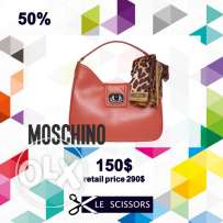 Moschino bag with scarf - 150$ only