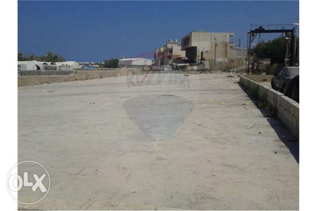 Land, Building, and Gas Station for Sale in Anfeh