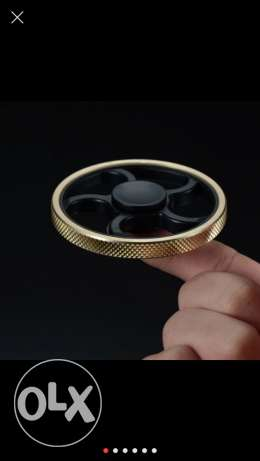 Fidget spinner gold and black edition super rare