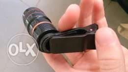 Zoom lens for smart phone