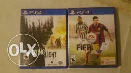 Fifa 15 & Dying light for trade or Sell ps4