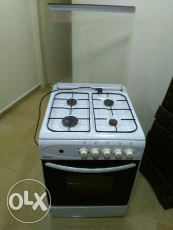 Gas oven electric