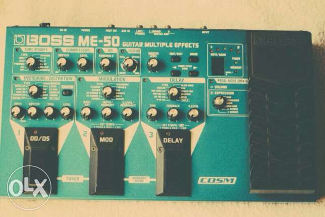 BOSS ME-50 multieffects pedal