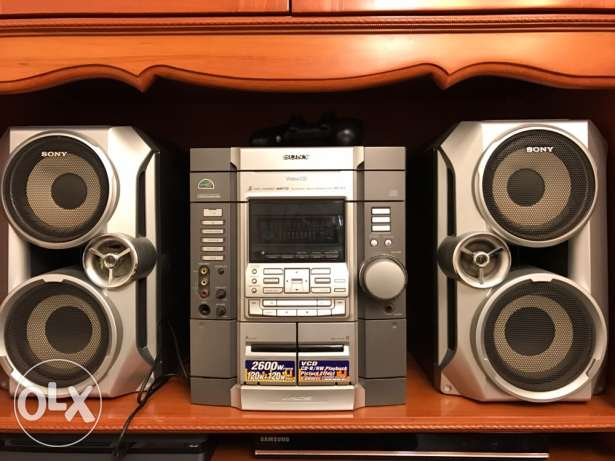 Stereo in very good condition barely used