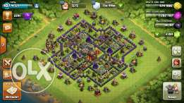 clash of clans th10+2011 gems