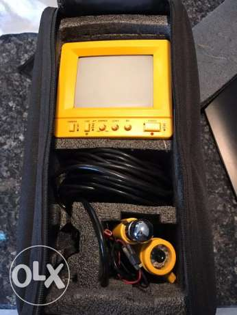 """SW-GLJ2110 Underwater 5"""" Video Camera System for Fishing"""