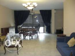 250 sqm furnished apartment with VIEW for rent in Dekwaneh, Metn