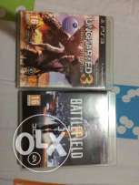 Uncharted 3 + battlefield 3 for 45$ only