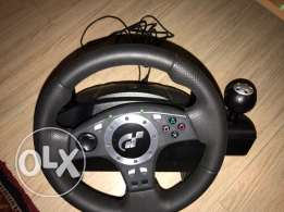 logitech driving force pro force feedback steering wheel ps2 ps3