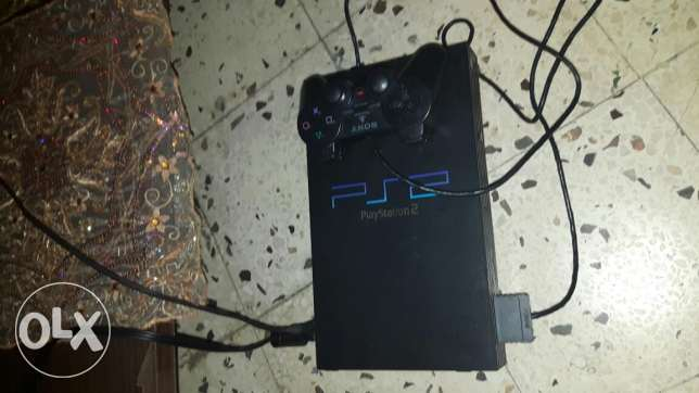 ps2 almost new with bicycle