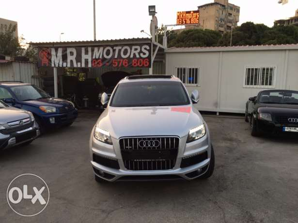 Audi Q7 2008 Silver Premium Package with Facelift Like New! بوشرية -  7