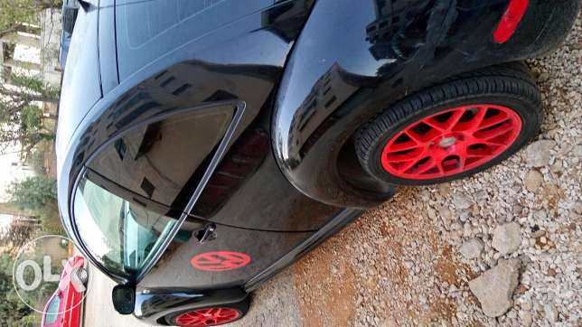 Beetle turbo black limited edition full options the price is negotiabl حوش الأمراء -  3