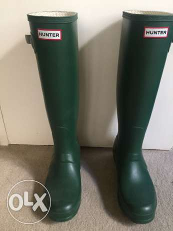 Original Hunter Rainboots Size 39