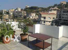 for rent a furnished appartement or foyer at antoura zouk