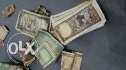 More than 100 pieces of lebanease old money