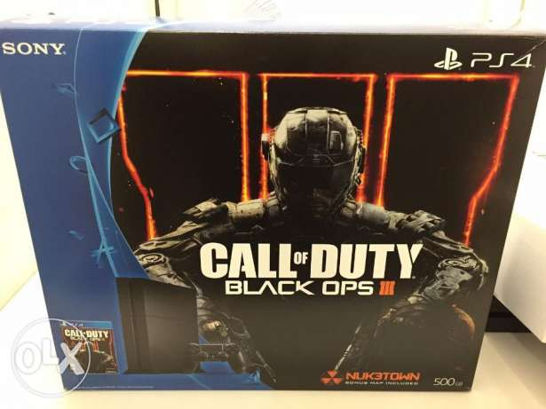 Sony PlayStation 4 Call of Duty Black Ops III Edition 500GB Jet Black