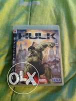 the Incredible Hulk PS3 used