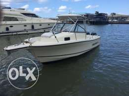 Trophy Fishing Boat walkaround 8m twin 150hp engine 4strokes