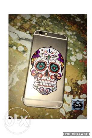 iphone 6/6s cover skull