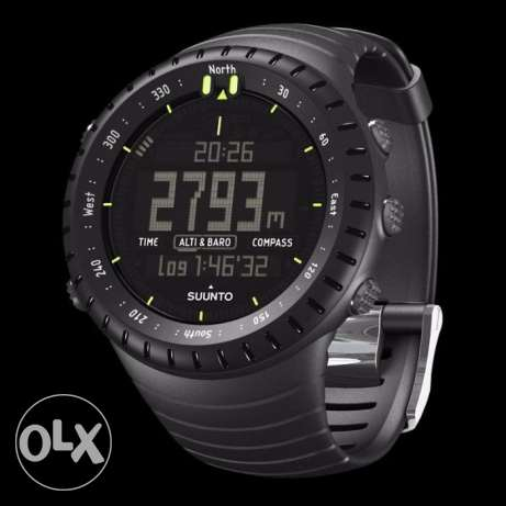 Suunto Core 2 All Black Military almost new