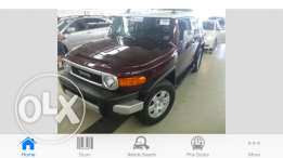Toyota FJ Cruiser model 2007 1 owner clean car fax full option