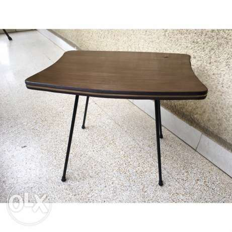 vintage art deco Formica table great condition small scratch on top