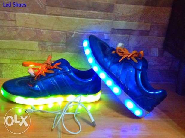 Led Shoes With Charger | Foot Number = 40