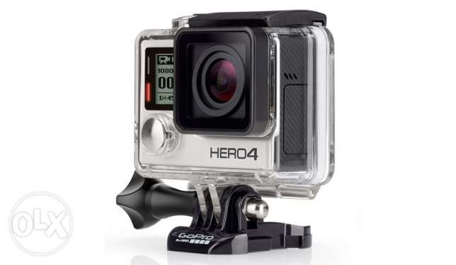 go pro hero 4 silver barely used