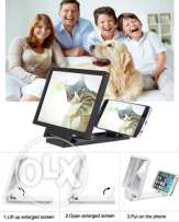 Mobile phone screen magnifier bracket